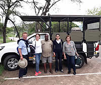 Overnight in Kruger National Park